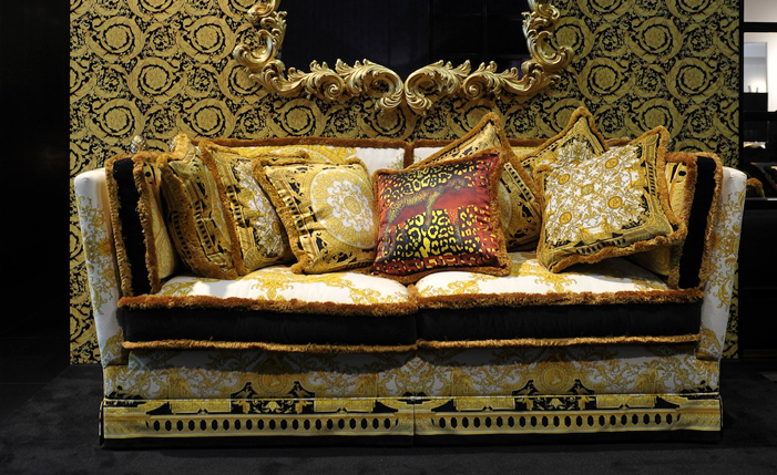 versace. Black Bedroom Furniture Sets. Home Design Ideas